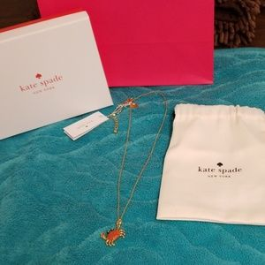 Sale: Kate Spade  Necklace with Crab Pendant